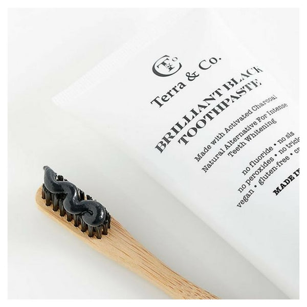 Terra & Co. Brilliant Black Toothpaste