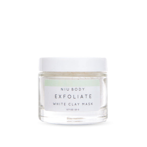 Exfoliate White Clay Mask