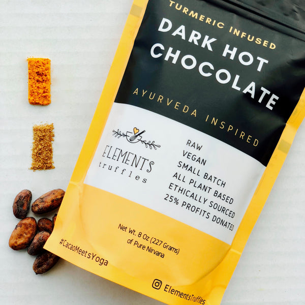 Turmeric Infused Drinking Hot Chocolate