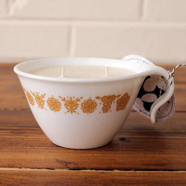 Buttercream Soy Candle in Vintage Correll Mug