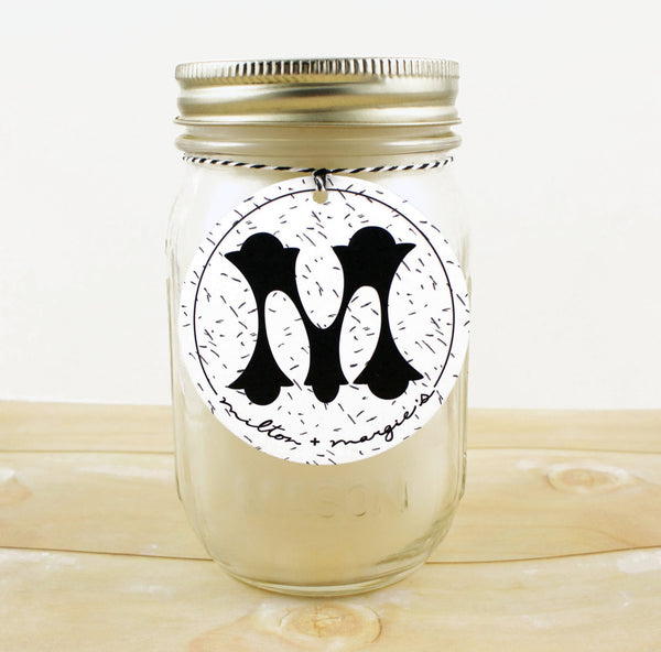 Mason Jar Soy Candle (16 oz.) - Pick The Scent