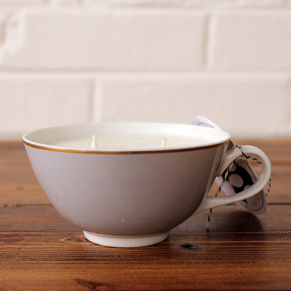 Wild Honey Soy Candle in a Vintage Mug