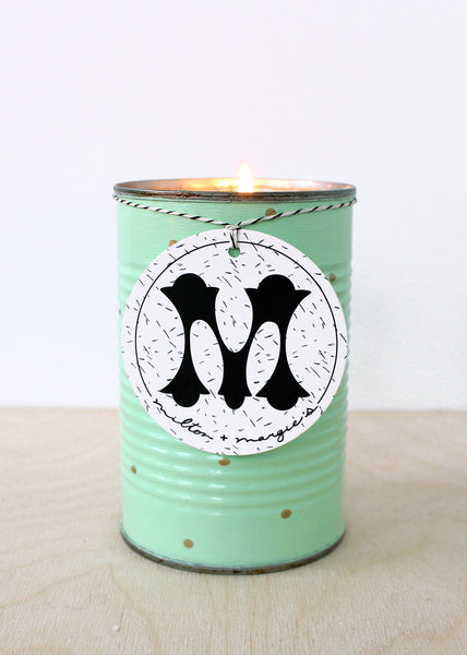 Tall Grass Soy Candle In Jade