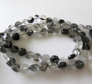 Black Rutilated Quartz 3-5mm - Chakra Intimates