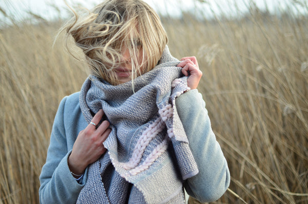 Wool scarf Bloom