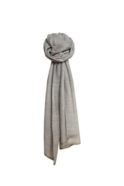 Wool scarf Light Sand