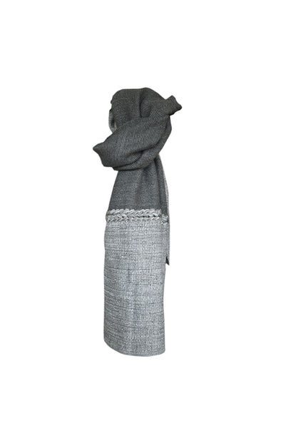 Wool scarf Graphite