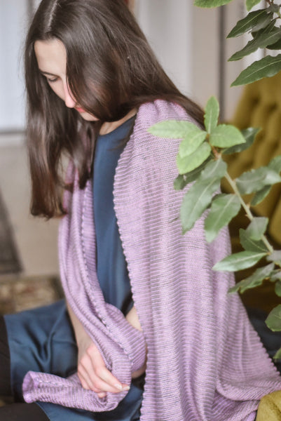 Plant-based scarf Wild Blossom