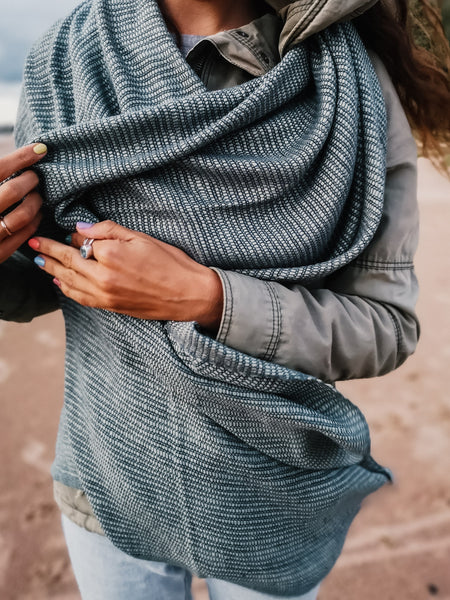 Plant-based scarf Sagebrush