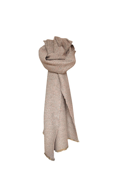 Wool scarf Maple