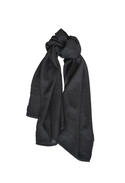 Wool scarf Casual Midnight