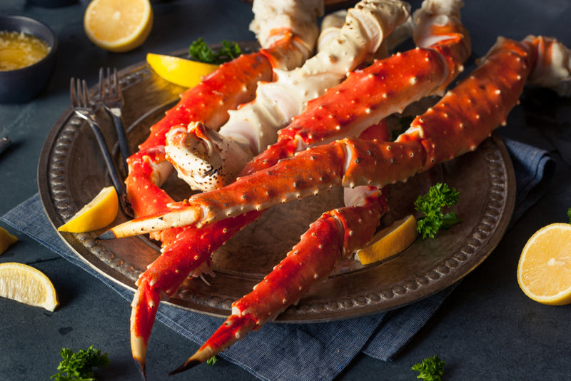 Alaskan Red King Crab Legs - 16/20 - (1 LB)