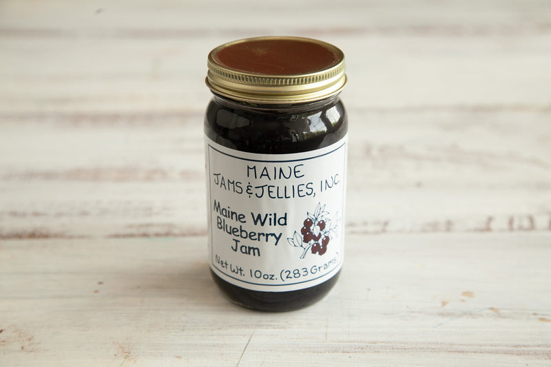 Wild Maine Blueberry Jam - Lobster Taxi