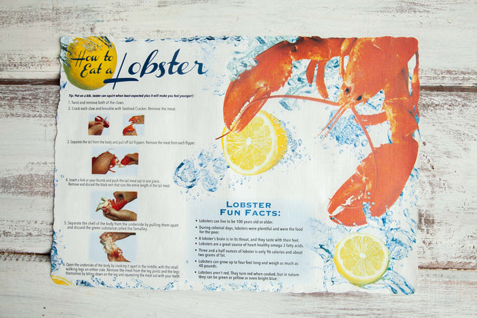 Lobster Place Mat - Lobster Taxi