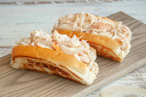 Maine Crab Rolls - Lobster Taxi