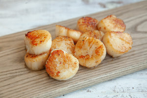 Maine Sea Scallops - Lobster Taxi