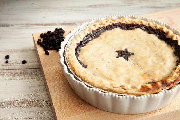 Maine Blueberry Pie - Lobster Taxi