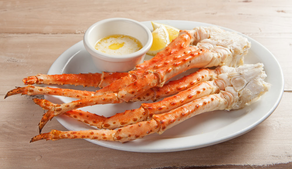 Two Snow Crab Leg Clusters