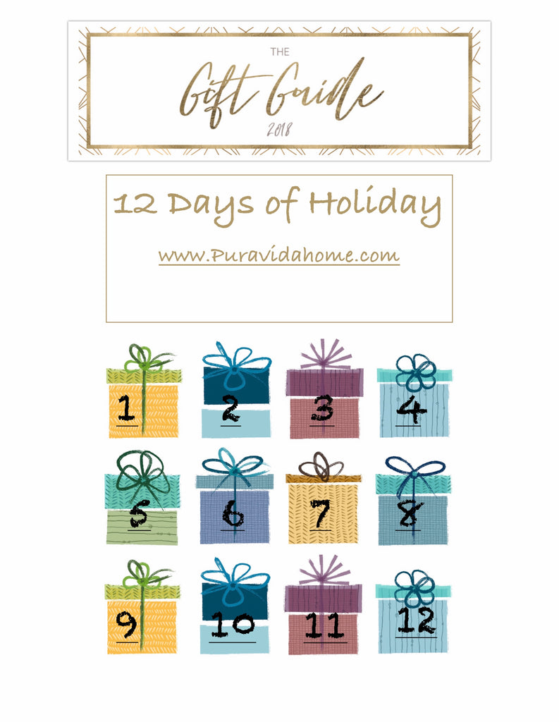 12 days of HOLIDAY - GIFT GUIDE