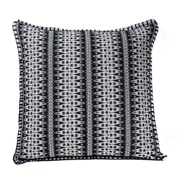 After Dark Fit Embroidered Pillow