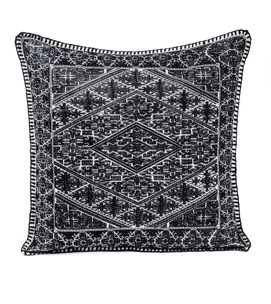 After Dark Shy Embroidered Pillow