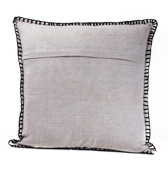 After Dark Fit Lumbar Embroidered Pillow