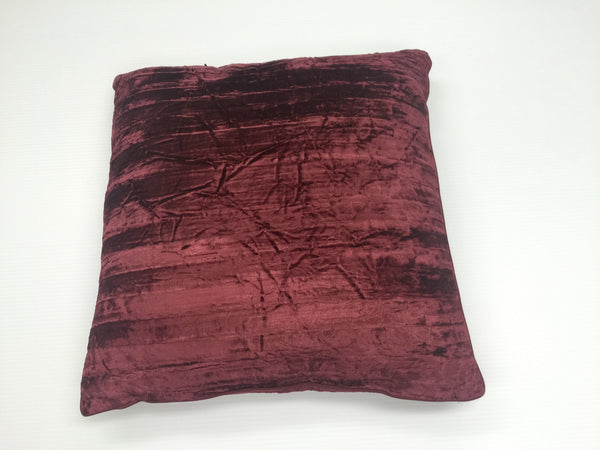 Luster Crushed Velvet Pillow