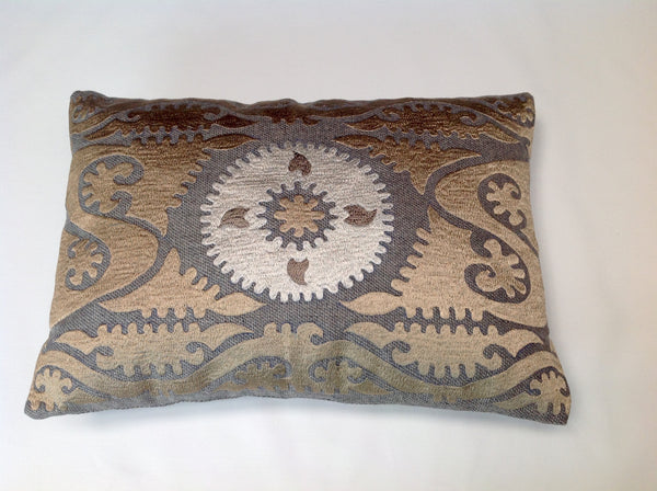 Blakeney Persian Lumbar Embroidery Pillow