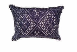 Amelia Lumbar Embroidered Pillow