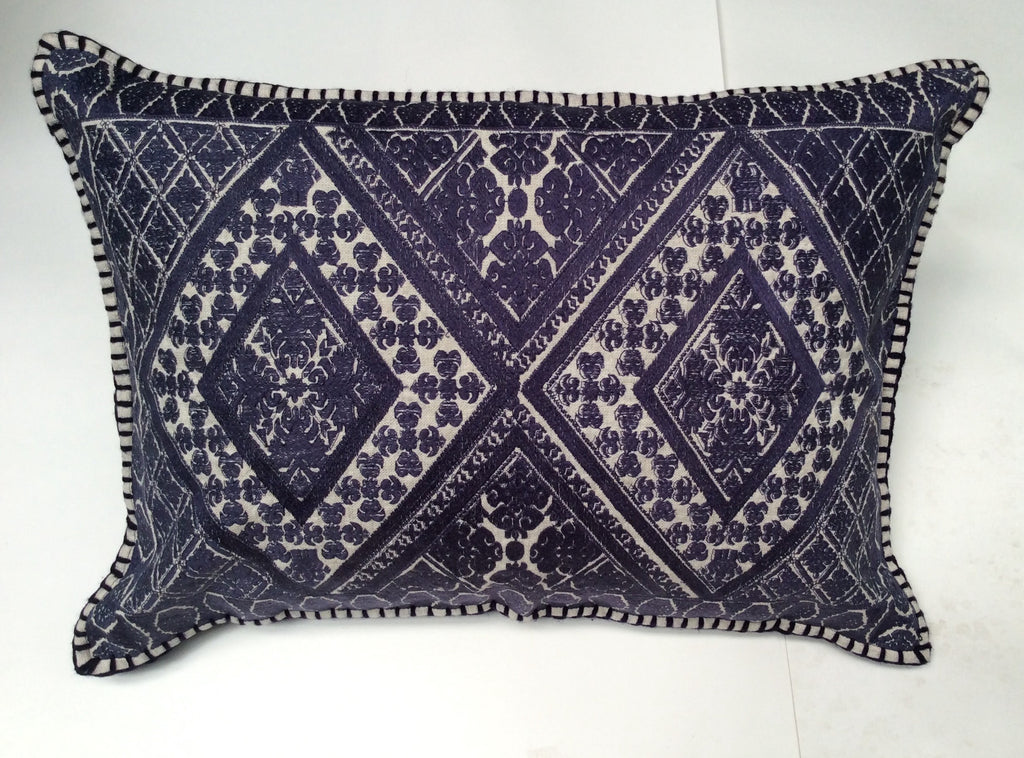 Amelia Embroidered pillow