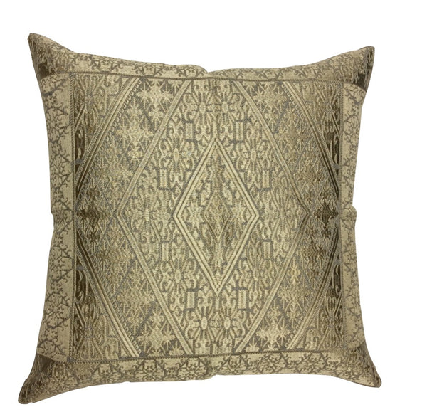 Blakeney Silk Embroidered Pillow