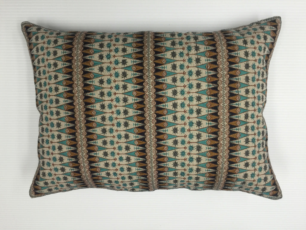 Finn Fit Lumbar Embroidered Pillow