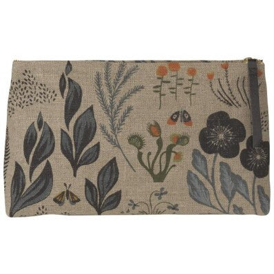Large Cosmetic Bag or Clutch