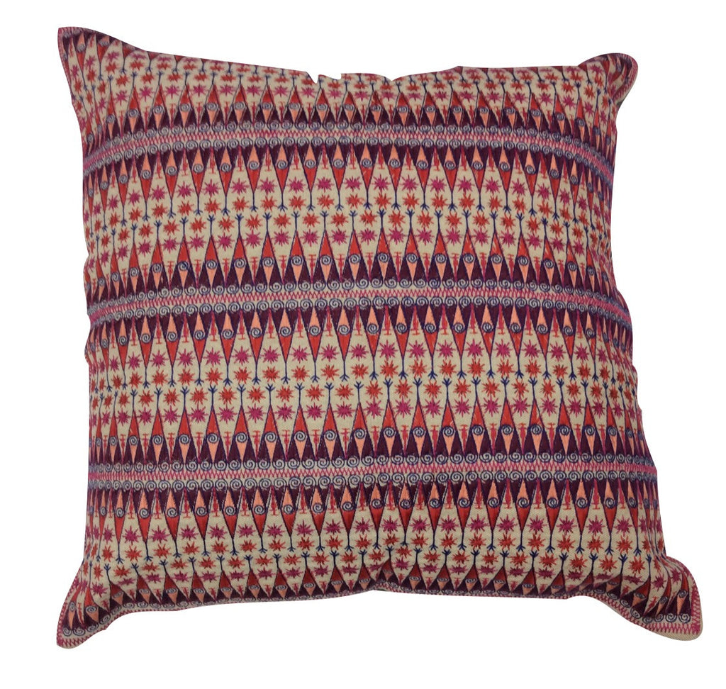 Audrey Fit Embroidered Pillow