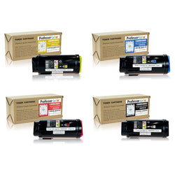 Professor Color Compatible Toner Cartridge Replacement for Xerox VersaLink C600 C605 (1 Black 106R03903, 1 Cyan 106R03900, 1 Magenta 106R03901, 1 Yellow 106R03902), ,