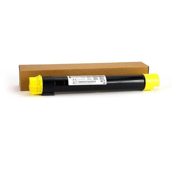 Professor Color Re-Coded Toner Cartridge Replacement for Xerox WorkCentre 7525/7530/7535/7545/7556 | 006R01514 - Yellow (15,000 Pages), Xerox WorkCentre 7525/7530/7535/7545/7556,