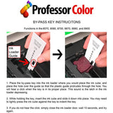 Professor Color Bypass Key Bundle Includes 8570 or 8580 Inks Replacing 108R00928 (2 Repackaged Yellow Xerox Inks) - Professor Color
