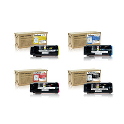 Professor Color Compatible Toner Cartridge Replacement for Xerox VersaLink C500 C505 (1 Black 106R03862, 1 Cyan 106R03859, 1 Magenta 106R03860, 1 Yellow 106R03861), ,