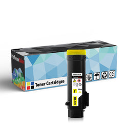 Professor Color High Capacity Compatible Toner Cartridge Replacement for Xerox Phaser 6510 106R03479 - Yellow, ,