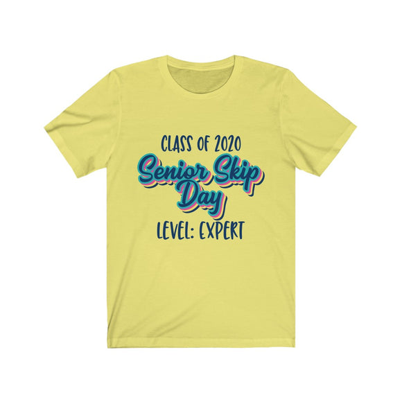 Senior Skip Day Expert Unisex Jersey Short Sleeve Tee