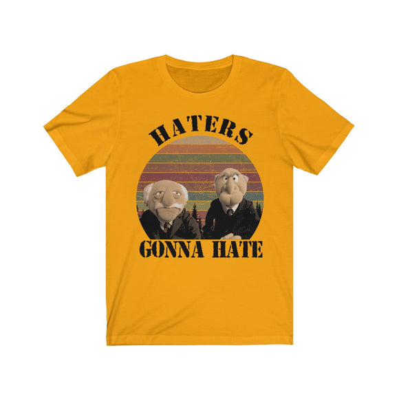Haters Gonna Hate Fan Art Short Sleeve Tee