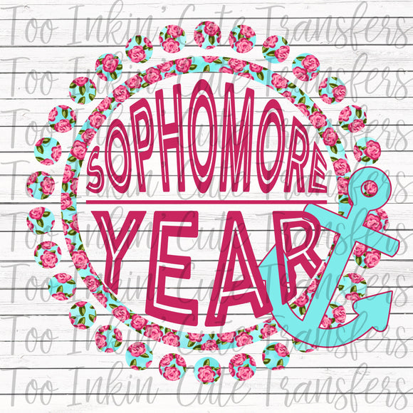 Sophomore Floral Anchor Transfer