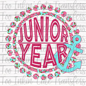 Junior Floral Anchor Transfer