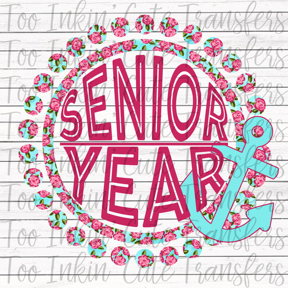Senior Floral Anchor Transfer