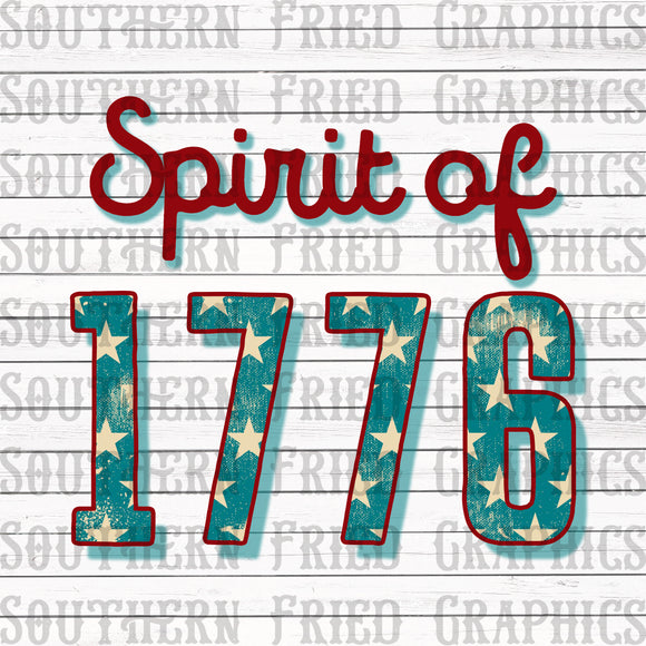 Spirit of 1776 Digital Graphic