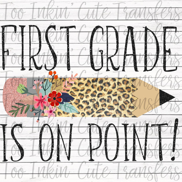 Leopard First Grade On Point Transfer