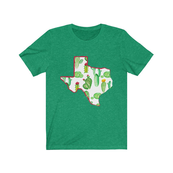 Texas Cactus Short Sleeve Tee