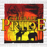 Safari Pride Grade Level Digital Graphic Bundle