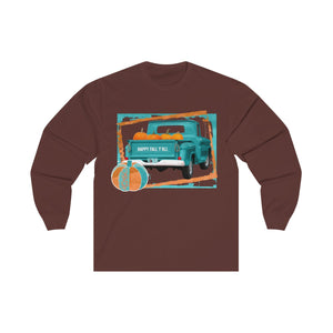 Happy Fall Y'all Unisex Long Sleeve Tee