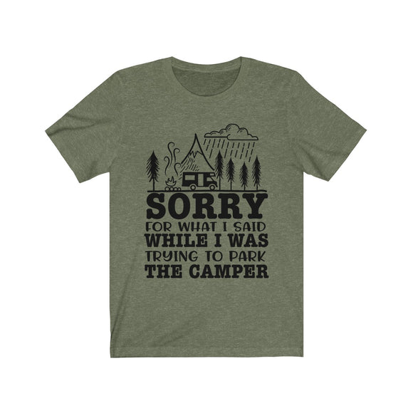 Parking the Camper Short Sleeve Tee